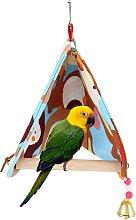Perle rare house bird parrot lounge chair parrot