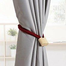 Perle Raregb - 1 pair of curtain knitted rope