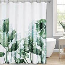 Perle Raregb - 12 Plastic Hooks Shower Curtain