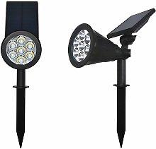 Perle Raregb - 2 Lawn lights, solar lawn lights,