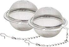Perle Raregb - 2 stainless steel mesh tea balls