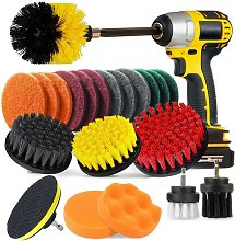 Perle Raregb - 22 Pieces Cleaning Brush for Drill,