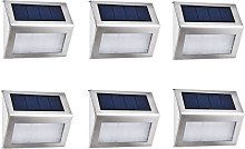 Perle Raregb - [6 Package] Outer Solar Lamp 4 LED