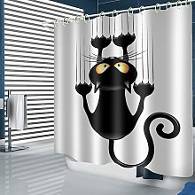 Perle Raregb - Black Humorous Cat Pattern DIY