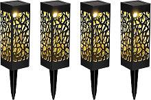 Perle Raregb - Solar Garden Lamp, 4 Rooms Solar