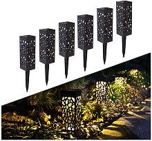 Perle Raregb - Solar Garden Lamp, 6 Rooms Solar