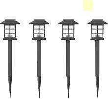 Perle Raregb - Solar Lamp Small Palace Lamp Garden
