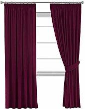 Permium Full Blackout Curtain Panels Pair, Thermal