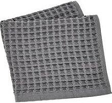 Perri Home Waffle Bath Towel Charcoal