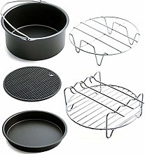 Persdico Air Fryer Accessories Kit 7 Inch