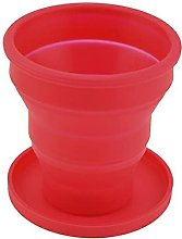 Persdico Silicone Folding Cup With Lid Collapsible
