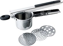 Persdico Stainless Steel Potato Ricer With 3