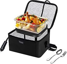 Personal Food Warmer for Car, 12V Heating Lunch