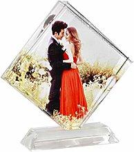 Personalised Acrylic Photo Frame Customised Square