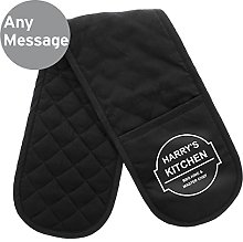 Personalised BBQ & Grill Oven Gloves, Please see