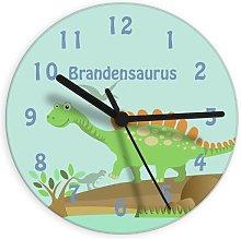 Personalised Boy's Bedroom Wall Clock -