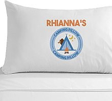 Personalised Camping Pillowcase, Holiday Gifts for
