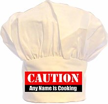 PERSONALISED CAUTION BAD COOKING SIGN PRINT CHEFS
