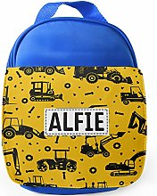 Personalised Childrens Digger Lunch Bag School