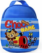 Personalised Childrens Lion Lunch Bag School