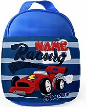 Personalised Childrens Racing Car Lunch Bag School