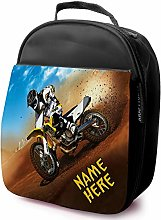 Personalised Childrens School Lunch Bag - Dirt