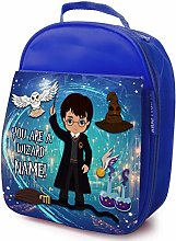 Personalised Childrens School Lunch Bag - Harry