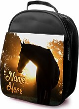 Personalised Childrens School Lunch Bag - Horse