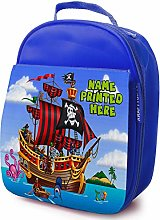 Personalised Childrens School Lunch Bag - Pirate