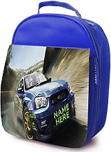 Personalised Childrens School Lunch Bag - Rally