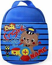 Personalised Childrens Train Lunch Bag School