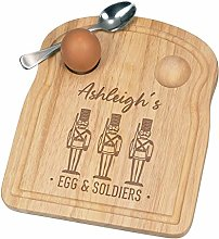 Personalised Custom Name Eggs and 3 Soldiers