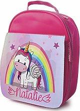 Personalised Girls School Lunch Bag - Baby Unicorn