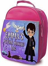 Personalised Girls School Lunch Bag - Harry Potter