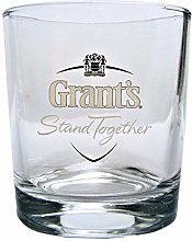 Personalised Grants Branded Scotch Whisky Glass,