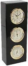 Personalised Indoor Clock Hygrometer Thermometer