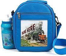 Personalised Kids Lunch Bag Flying Scotsman