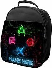 Personalised Kids Lunch Bag Gamer Thermal