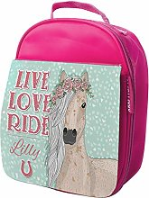 Personalised Kids Lunch Bag Horse Thermal