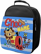 Personalised Kids Lunch Bag Lion Thermal Insulated