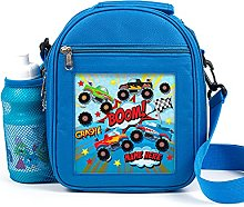 Personalised Kids Lunch Bag Monster Truck Thermal