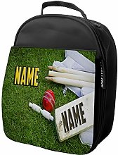 Personalised Kids Lunch Bag Racing Cricket