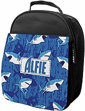 Personalised Kids Lunch Bag Shark Thermal