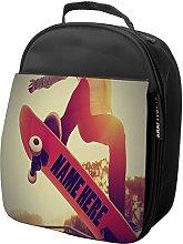 Personalised Kids Lunch Bag Skateboard Thermal