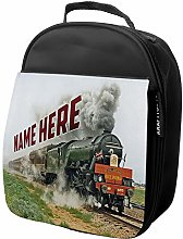 Personalised Kids Lunch Bag Steam Train Thermal