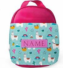 Personalised Llama School Lunch Bag - Insulated