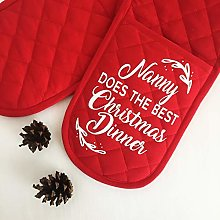 Personalised Oven Gloves | Nanny Makes The Best
