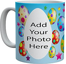 Personalised Photo Easter Egg Cup/Mug Printed on