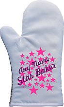 PERSONALISED STAR BAKER MULTI STAR PRINT OVEN MITT