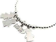 Personalised Sterling Silver Engraved Love You